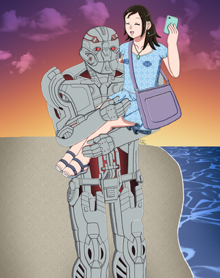 The Girl Who Loved Ultron by ErinPrimette