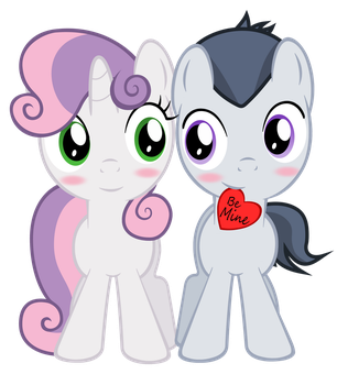 RumBelle Hearts and Hooves Day by LunaticDawn