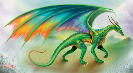 European Dragon for Museum by whammock
