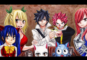 Fairy Tail's Strongest Team by Cantrona