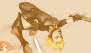 Link In action by fauneste-black