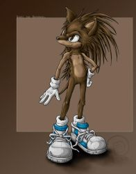 01- Young Sonic by Swirlything