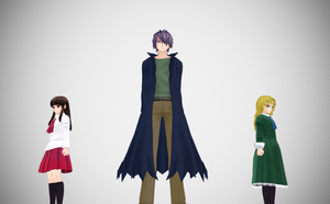 MMD Opening Scene Pose DL by epicbubble7