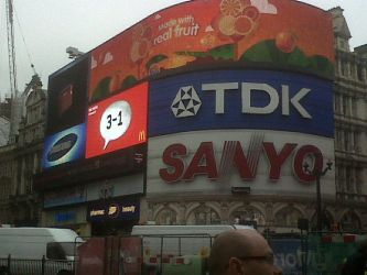 Stock  - Picadilly circus by Mark-Anthony