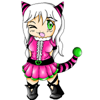 .::PC::.Pixel art-Gijinka Flaffly by Senpai-Hero