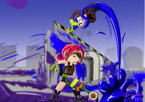 Splatoon [Contest Entry] by spoopdee