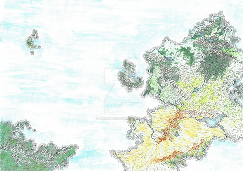 Fantasy Map - Test - Colour by nimdewhirst