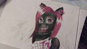 Catty Noir WIP 2 by Aiclo