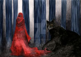 Red riding hood by GemmaGuerrero