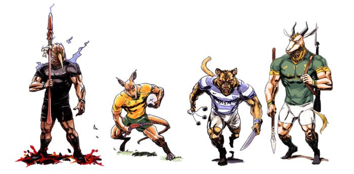 Rugby Championship 2016 by archvermin
