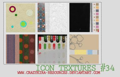 Icon Textures .34 by crazykira-resources