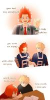 Kiribaku - You Are My Sunshine by NatcoNatco