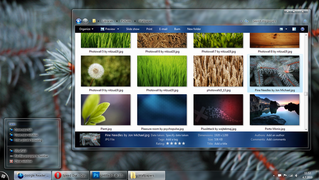 Ezlo for Windows 7 by Xyrfo