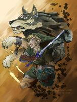 The Legend of Zelda Twilight Princess - fanart by Samayume