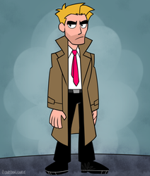 TeenTitansGO! - Constantine by cartoonjunkie