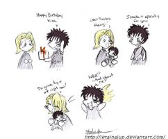 Bleach_Hisagi's Gift to Kira by letainajup