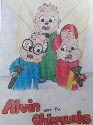 Alvin and the Chipmunks by WeirdGirl04
