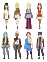 Naruto Adoptable Batch 4 :CLOSED: by kii-wi