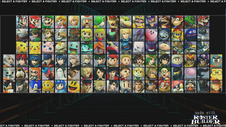 ROSTER BUILDER - Mix and Match Sample 2 by ConnorRentz