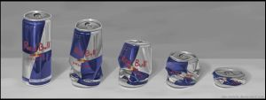 Red Bull Can by ales-kotnik