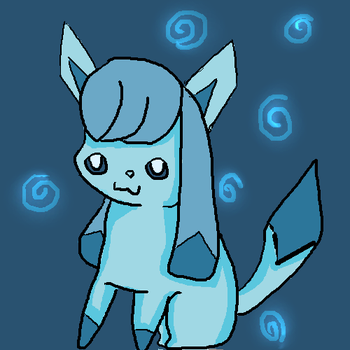 Glaceon by Aayania