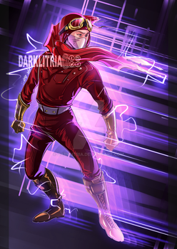 TheFlash: Accelerated Man by DarkLitria