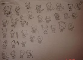 Chibis by Any1995