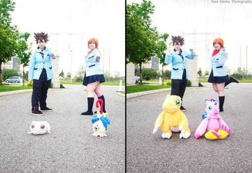 Digivolve to... by Hanyou-Cosplay