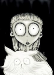 Weird girl - Frankenweenie by Tallyta