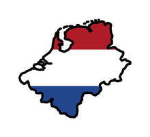 Greater Holland flag map by GeneralHelghast