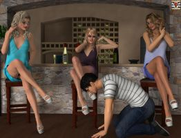 Blonde Angels Party by kirgen71