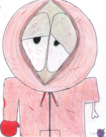 ZombieKenny (Hand Drawn) by RavenRechior