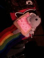 Nyan cat scarf by Mohxi
