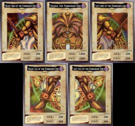 Exodia the Forbidden One by Kyoodo