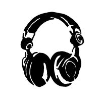 Headphone Stencil by peoplperson