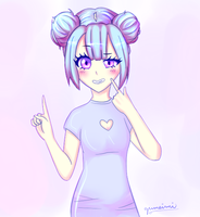 aster [oc] by gumeimi