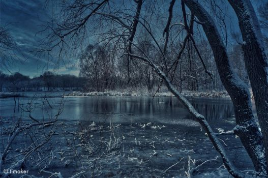 The Frozen River by t-maker