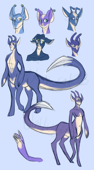 Andalite Concepts by otakugal15