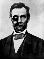 Cyborg Lincoln by wizardino