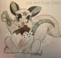 Ice Cream!!! - Old Art from 2002 by JB-Pawstep