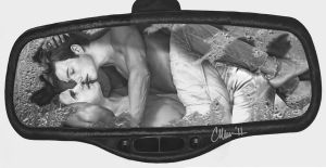 Klaine - From This View - Drawing by Live4ArtInLA