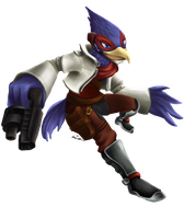 Falco Lombardi by Cronoan
