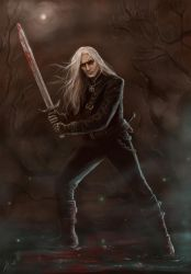 The Witcher by LeafOfSteel