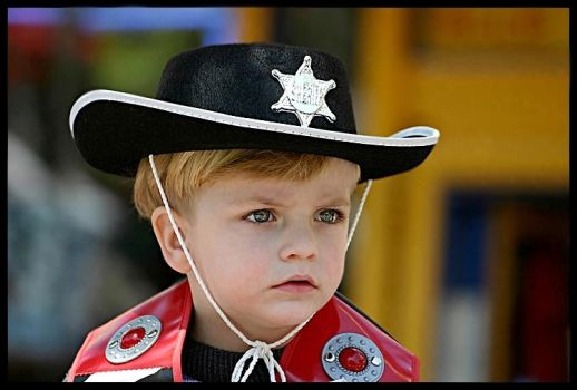 The Little Sheriff by ofirk