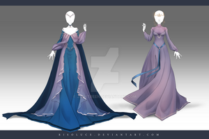 (CLOSED) Adoptable Outfit Auction 166-167 by JawitReen