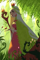 Queen of the garden by Th3Dom