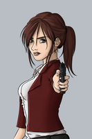 Claire Redfield by lagospato