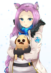 Patrone and Pug by Yurie02