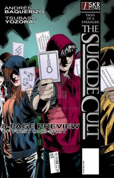 SUICIDE CULT COVER + BOOK by diaverik