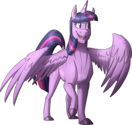 Twilight Sparkle 2018 by NamyGaga